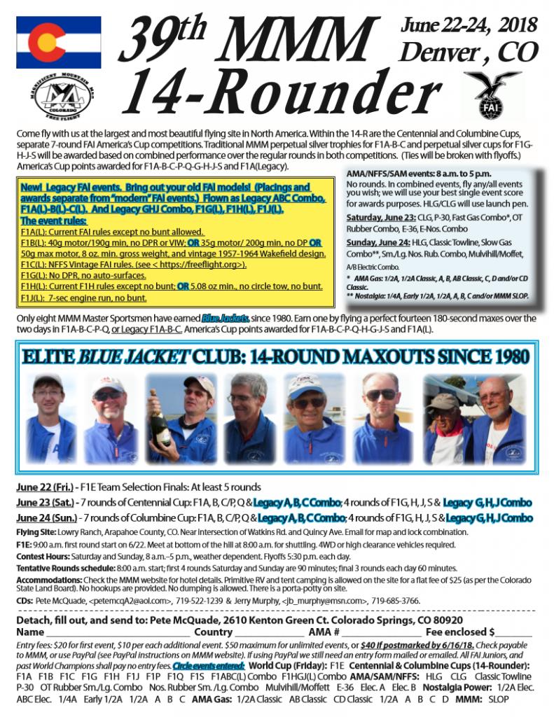 MMM14R 2018 flyer